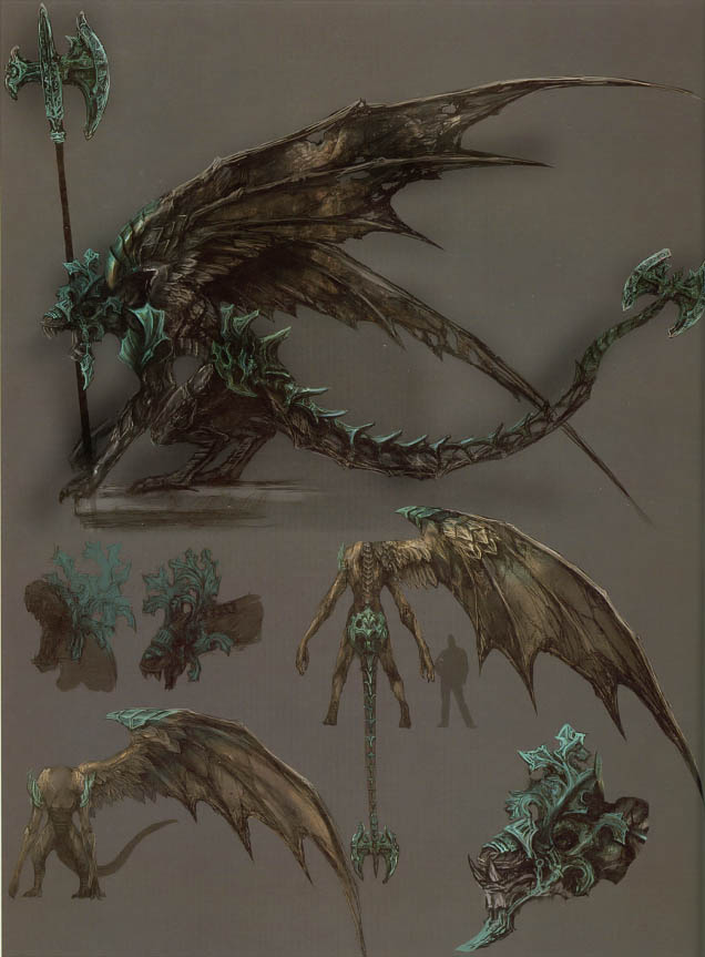 Dark Souls概念设计书