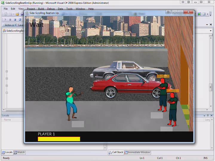 XNA:侧轴视角游戏开发教程