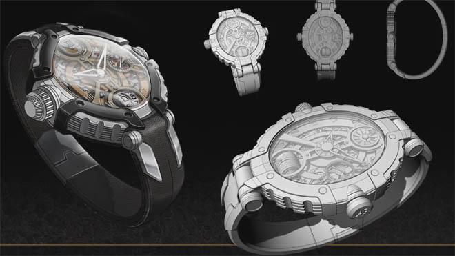 Digital Tutors - Product Design Pipeline Modeling a Watch in Rhino
