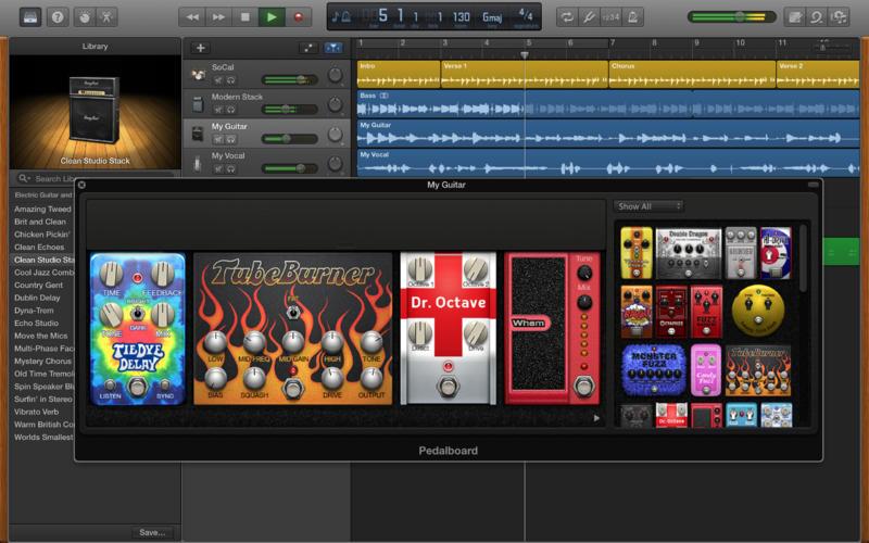 Apple GarageBand 10.1.2 Multilingual (MacOSX)